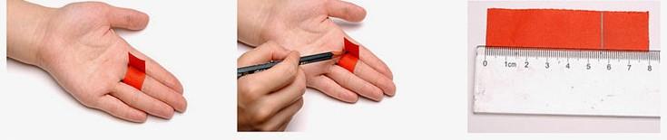 آموزش تعیین سایز انگشتر