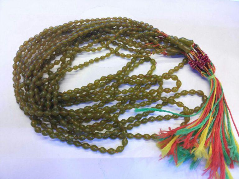 تسبیح شاه مقصود زیتونی اصلی افغانی دانه ای