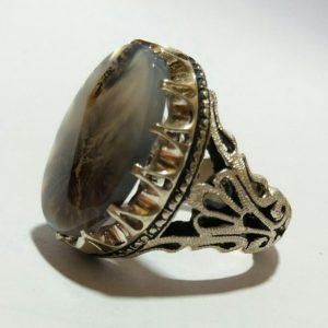 انگشتر شجر طبیعی ایرانی زیبا