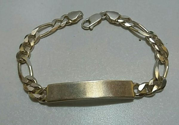 دستبند مردانه نقره