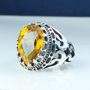 انگشتر الکساندریت 7 رنگ اشکی