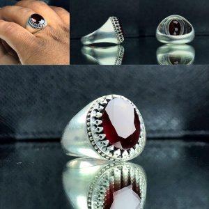 انگشتر یاقوت سیلان اصل