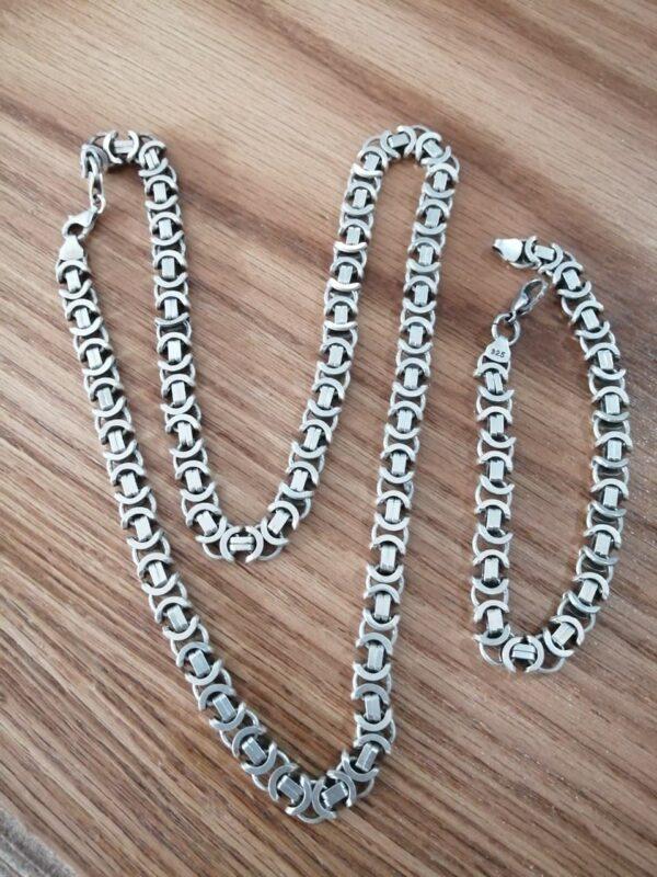 زنجیر و دستبند کار ترک دست ساز سنگین
