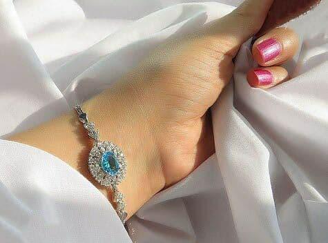 دستبند توپاز سویسی اصل
