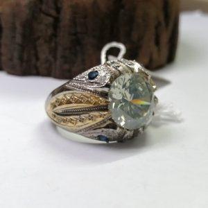 انگشتر موزانایت الماس روسی